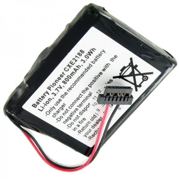 Akku passend für Pioneer CXE2188 , AVIC-F320BT, Akku 338937010176
