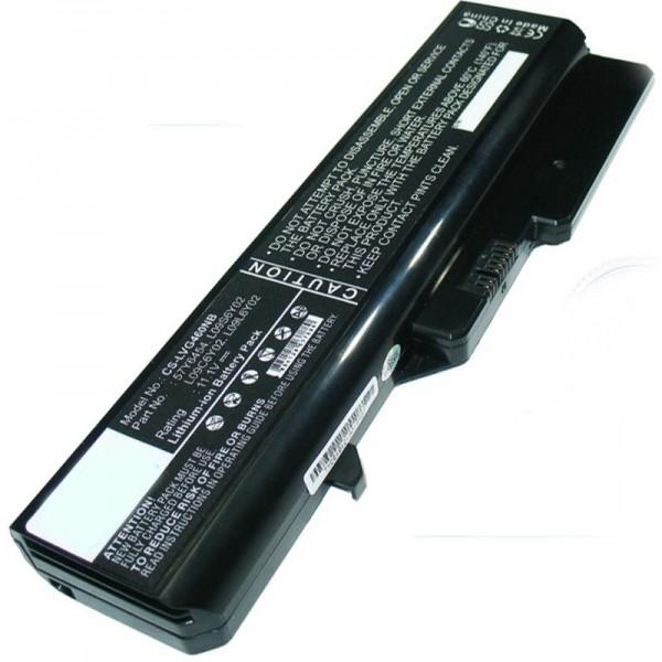 Lenovo IdeaPad G560, M276LGE 5200mAh Nachbau Akku von AccuCell