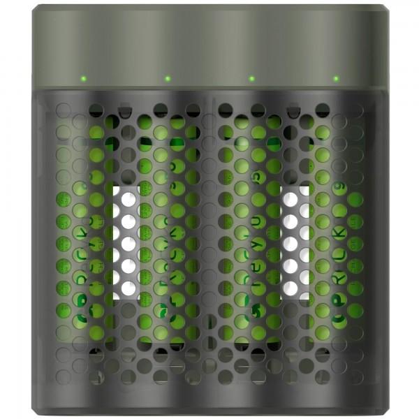 USB-Modell Ladegerät GP M451 Mainstream-Line 4 x ReCyko AAA 950 mAh
