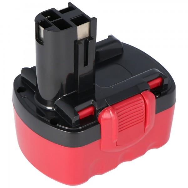 Akku passend für Bosch GSR 14,4 VE-2, 2607335276 NiMH 3,0 Ah