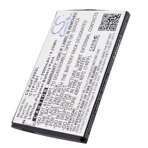 Akku passend für Asus Zenfone 2 Akku 0B200-01770200, C11P1501