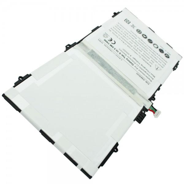Nachbau Akku passend für SAMSUNG Galaxy Tab S 10.5, SM-T800, SM-T805 mit 3,8 Volt und 7900mAh 30,02Wh