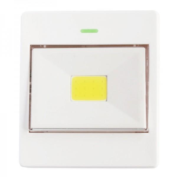 LED Switchlight mit bis zu 100 Lumen Leuchtkraft, Kabellos, inklusive 3 AAA Batterien