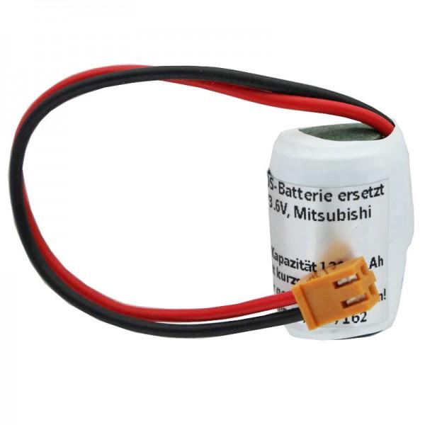 Lithium Batterie passend für C52005, ER3V-C, ER3V/3.6V, FBT030A, NP8P-BT