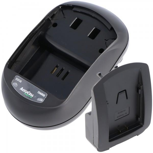Schnell-Ladegerät passend für Panasonic VW-VBN130 E-K, VW-VBN260