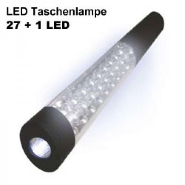 WorkLite Mini LED-Arbeitsleuchte mit 27 LED und zusätzlich 1 LED