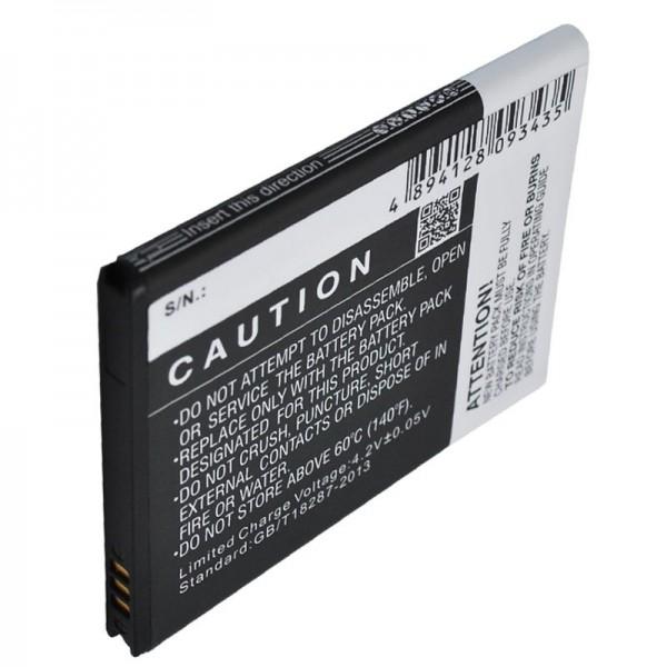 Akku passend für SAMSUNG Aegis, BBM65TK, Samsung Galaxy Metrix 4G, SCH-i405, SCHI405LKV, SCH-i405U, Stratosphere 4G, Stratosphere i405