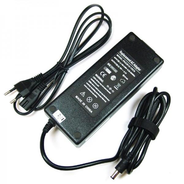 Ladegerät, Netzteil passend für Toshiba 19 Volt, 6,3A, 120W, 6,3x3,0mm