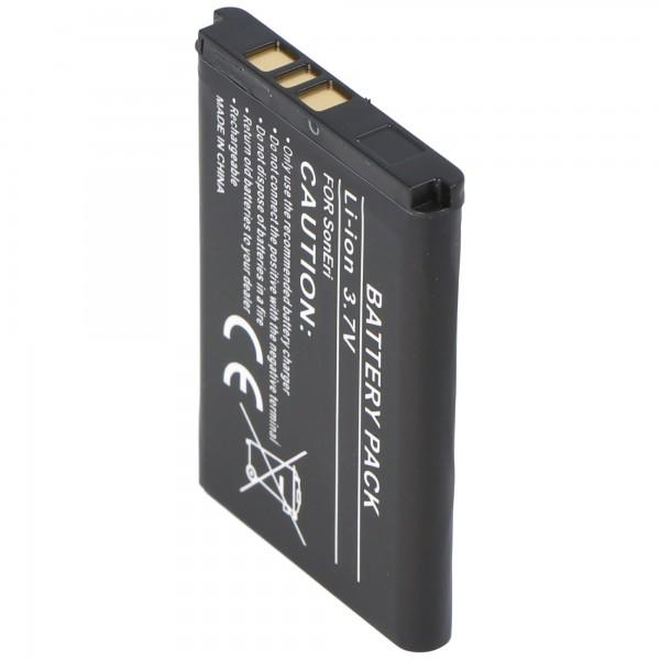 AccuCell Akku passend für Sony Ericsson Z710i, 600mAh