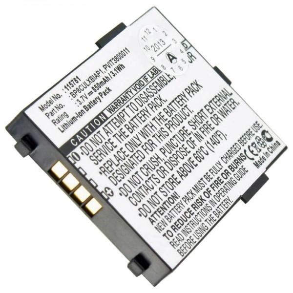 AccuCell Akku passend für MEDION MD40600, MEDION MD41600, MEDION MD40885