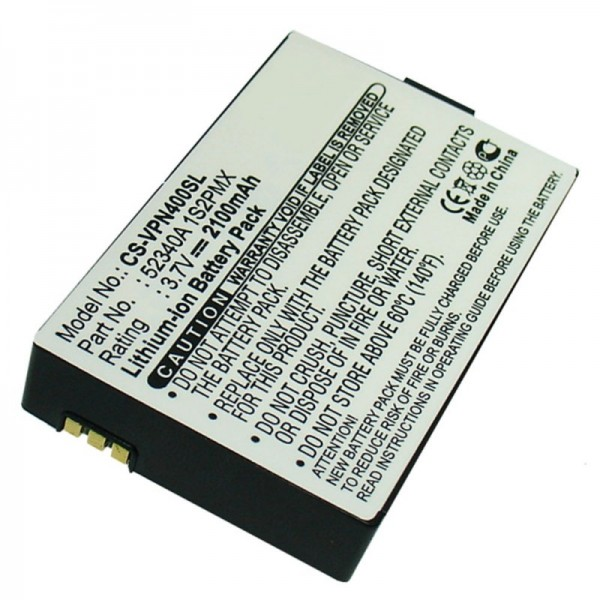 Akku passend für VDO DAYTON BAT-4060, PN4000, PN4000-TSN, 52340A 1S2PMX