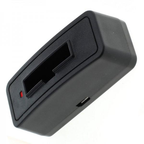 Schnell-Ladegerät passend für den Sennheiser BA90 Akku NiMh, NiCd