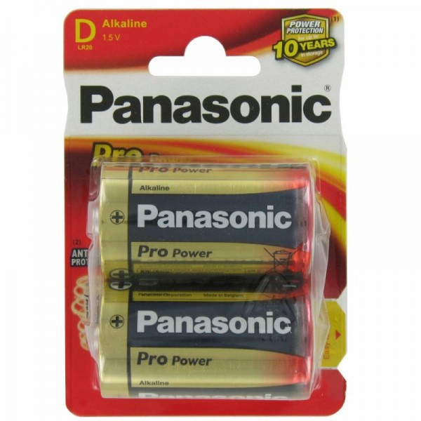 Panasonic Pro Power Mono D / LR20 2er Blister
