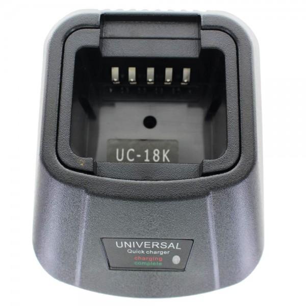 Ladegerät passend für Akku Motorola P60, SP50+, SP21, SP10, RADIUS HT10, SP50, P50 LOW POWER, CP50, HNN9018AR, HNN9044A, HT10, P
