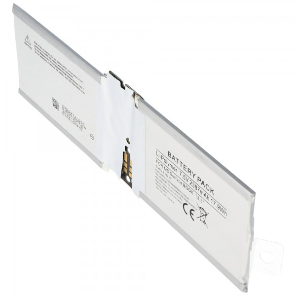 Akku passend für Microsoft Surface Book 13.5, Surface CR7 13.5, CR7-00005 Akku DAK822470K