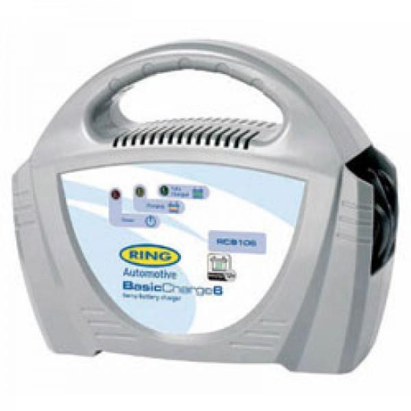BasicCharge6 Blei Ladegerät 12 Volt 6A mit manueller Abschaltung