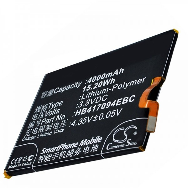 Huawei Ascend Mate 7 Akku HB417094EBC als Nachbau Akku von AccuCell
