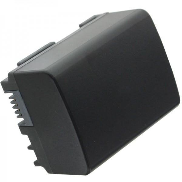 AccuCell Akku passend für Canon BP-808 mit Restminutenanzeige