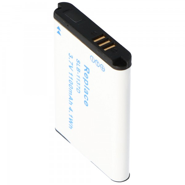 AccuCell Akku passend für Samsung SLB-1137D, NV 100HD, NV 24HD