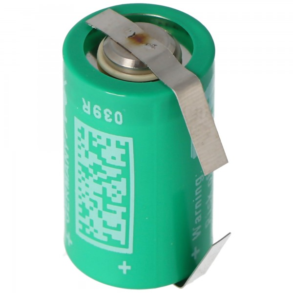 Varta CR1/2AA Lithium Batterie 6127 mit Lötfahne U-Form