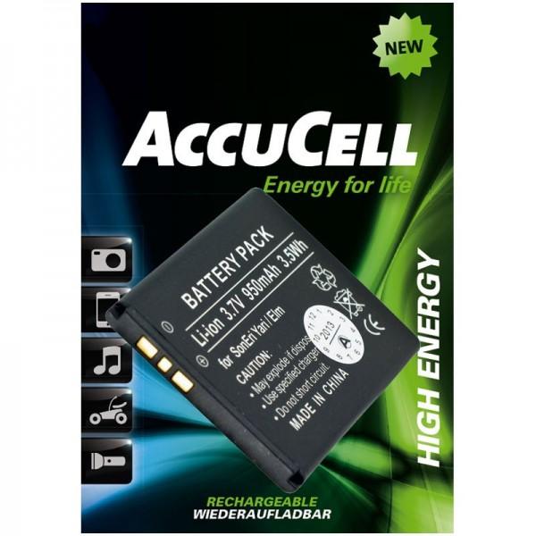 AccuCell Akku passend für Sony Ericsson Yari, BST-43 Akku