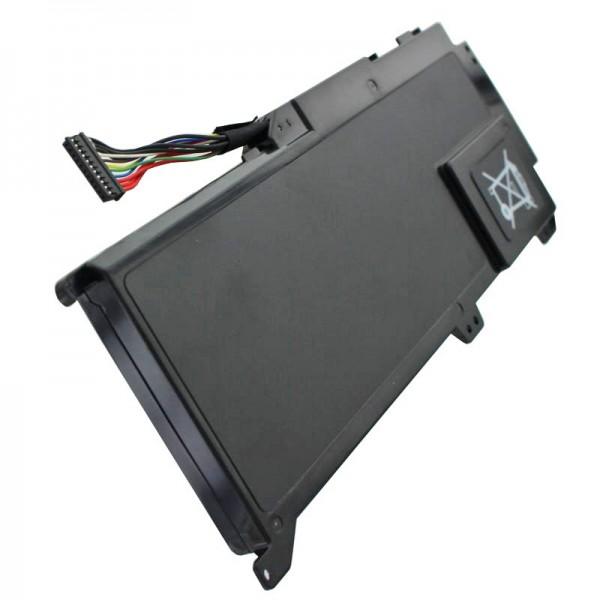 Akku passend für Dell XPS 14z Ultrabook, Dell V79Y0 14,8 Volt 3900mAh