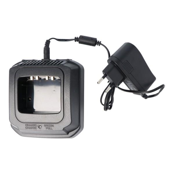 Schnell-Ladegerät passend für den Motorola Akku GP900, GP1200, NTN-7144, NTN7144, NTN-7143, NTN7143, MTS2013