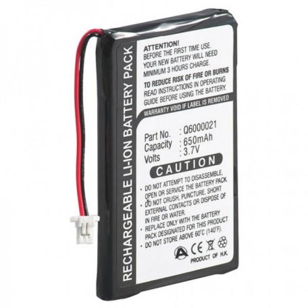 Akku passend für TomTom GPS-9821X, Q6000021, 550mAh