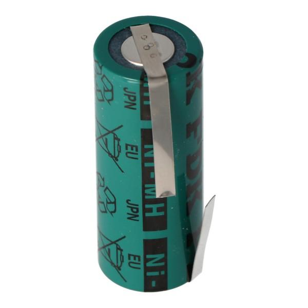 Akku NiMH 4/5A, 43x17mm passend für elektrische Zahnbürsten der Braun Oral-B Triumph Serie (bitte Maße 43x17mm prüfen)