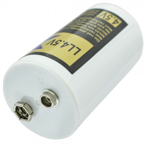 Alkaline-Batterie 4,5 Volt mit Kronenanschluss Lounge Light LED
