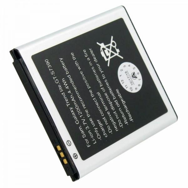 Akku passend für Samsung Galaxy Trend Lite Akku GT-S7390, Abmessungen 60,7 x 50,4 x 4,4mm beachten