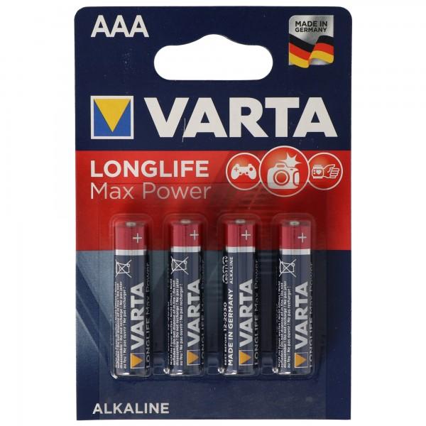 Varta Max-Tech 4703 Micro AAA 4-er Blister