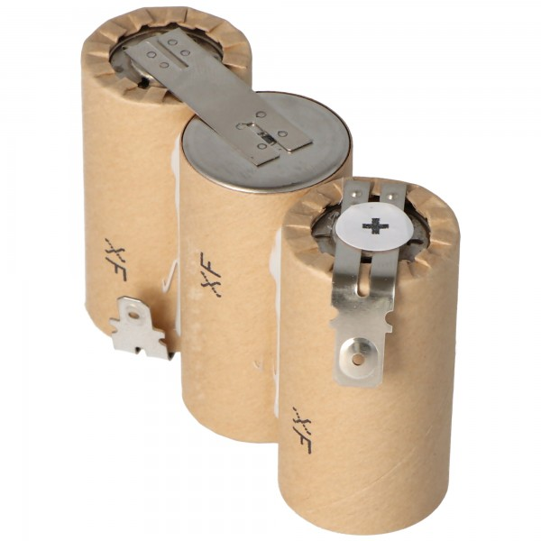Akku passend für Gardena ACCU60 mit Faston 6,3 und 4,8mm, 2500mAh