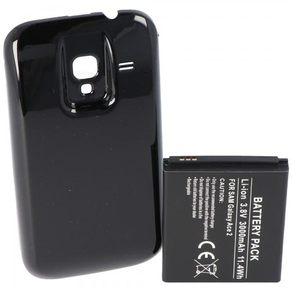 Samsung Galaxy Ace 2, Samsung GT-I8160, Samsung GT-I8160P Nachbau Akku von AccuCell
