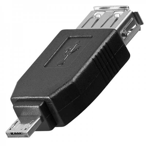 USB 2.0 Hi-Speed Adapter A Buchse auf Micro A-Stecker