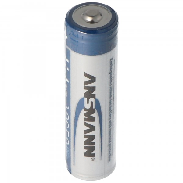 Ansmann Li-Ion Akku 18650 Lithium-Ionen Akku 3,6 Volt 2600mAh, 9.36Wh, geschützter Akku durch Sicherheitsbeschaltung