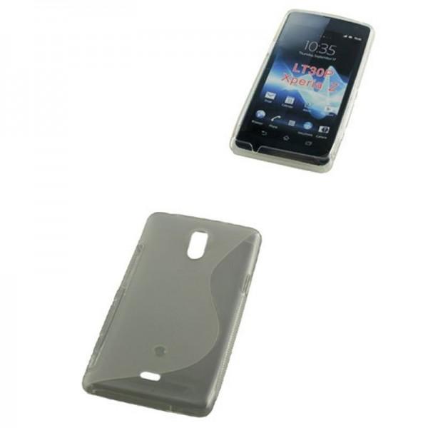 TPU Case kompatibel zu Sony Xperia Z S-Curve transparent