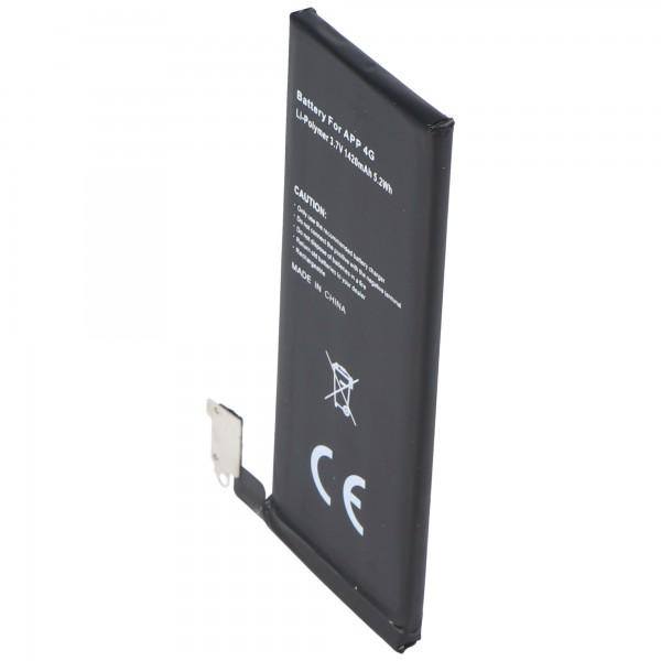 Akku passend für Apple iPhone 4 Akku 1420mAh ohne Einbauwerkzeug