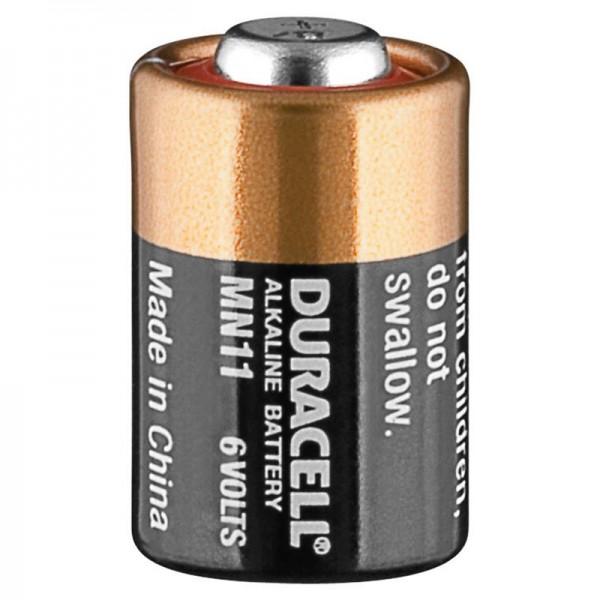 Duracell MN11 Alkaline Batterie 6 Volt, Abmessungen 16 x 10 mm