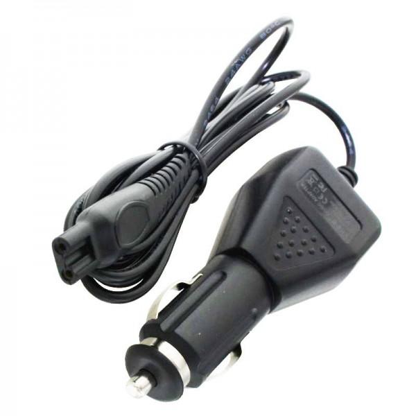 12 Volt KFZ-Ladekabel passend für Philips Rasierer CRP136, Philips HQ8505