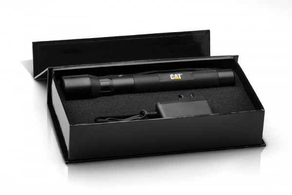 CAT CT12354P aufladbare LED Taschenlampe mit 3W Cree LED inkl. Ladegerät