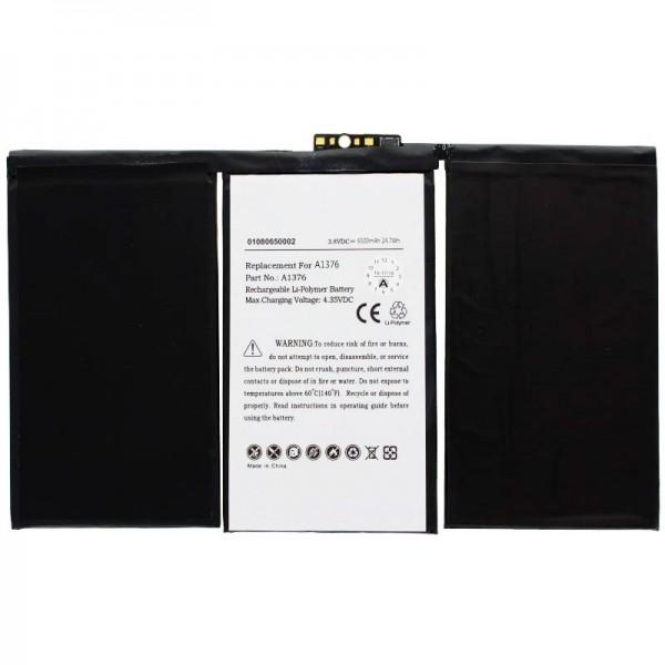 Akku passend für den Apple iPad 2 Akku 616-0561, A1316, A1376, A1395, A1396, A1397