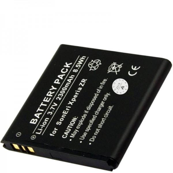 BA950 Akku als Nachbauakku von AccuCell passend für Sony Xperia ZR LTE