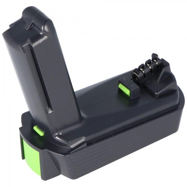 Akku Imitat passend für Festool BP-XS Akku 2Ah Nr. 498616 für CXS Akku-Bohrschrauber
