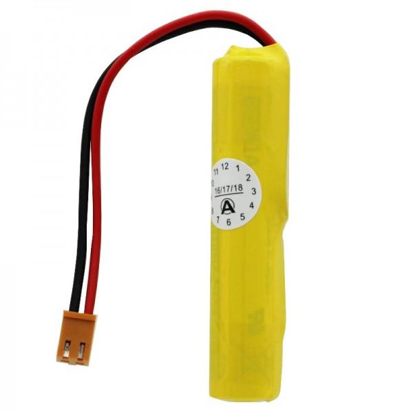 Batterie 3 Volt passend für GE Fanuc IC697ACC701, Fanuc Cutler Hammer