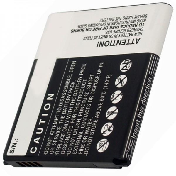 Samsung Galaxy Express 4G LTE Ersatz-Akku von AccuCell