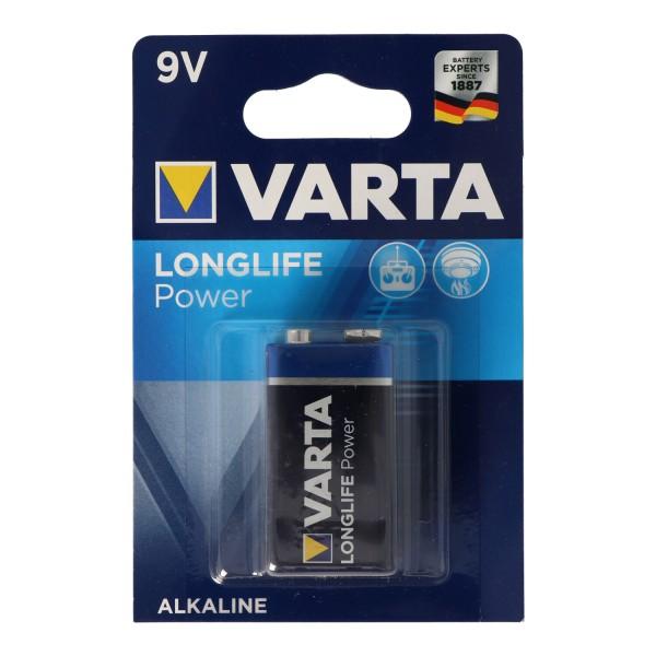 Varta Longlife Power (ehem. High Energy) 9V E-Block 4922 Batterie 1-er Blister