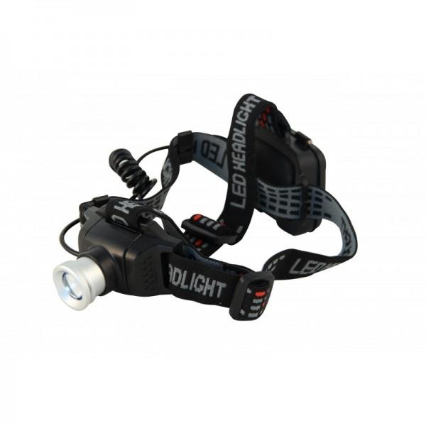 ARGO Zoom LED-Stirnlampe IH535 mit Zoom und Rücklicht, ARGO ZOOM EVO Stirnleuchte 6W 400 Lumen, inklusive Batterien