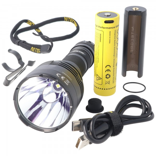Nitecore LED-Taschenlampe Neu P30 inklusive 5000mAh NL2150R Akku