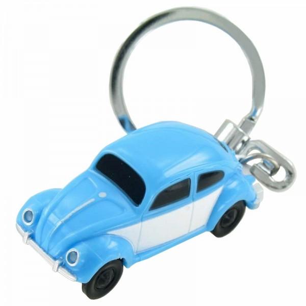 LED-Schlüsselanhänger Volkswagen VW Käfer in der Farbe blau 1:87 Boxer